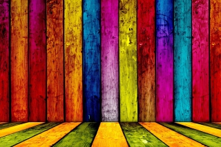 Kostenloses Colored Boards Wallpaper für 1280x720
