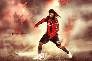 Ronaldinho Wallpaper for Android, iPhone and iPad