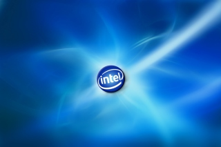 Blue Intel Background for Android, iPhone and iPad