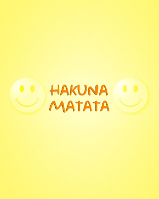 Hakuna Matata Wallpaper for Nokia C1-00