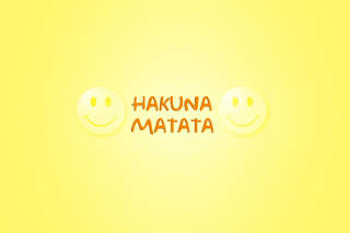 Free Hakuna Matata Picture for Samsung Galaxy Tab 2 10.1