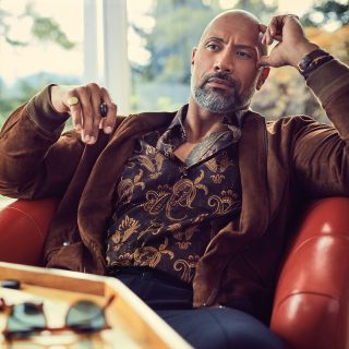 Dwayne Johnson The Rock Instyle sfondi gratuiti per 1024x1024