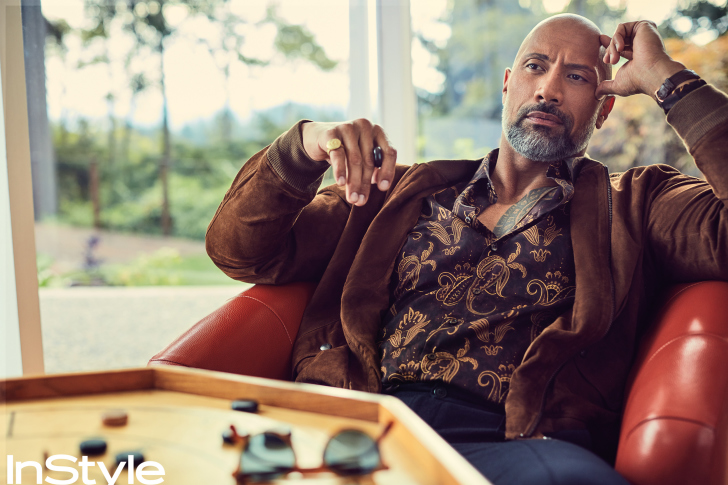 Dwayne Johnson The Rock Instyle wallpaper
