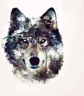Wolf Art sfondi gratuiti per iPhone 6 Plus