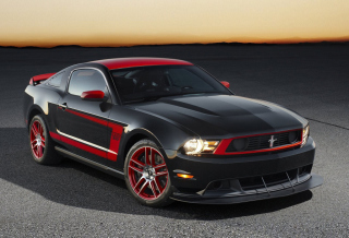Ford Mustang Boss Background for Android, iPhone and iPad