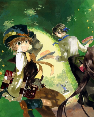 Free Pandora Hearts Picture for iPhone 3G