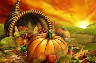 Thanksgiving Pumpkin Wallpaper for Android, iPhone and iPad