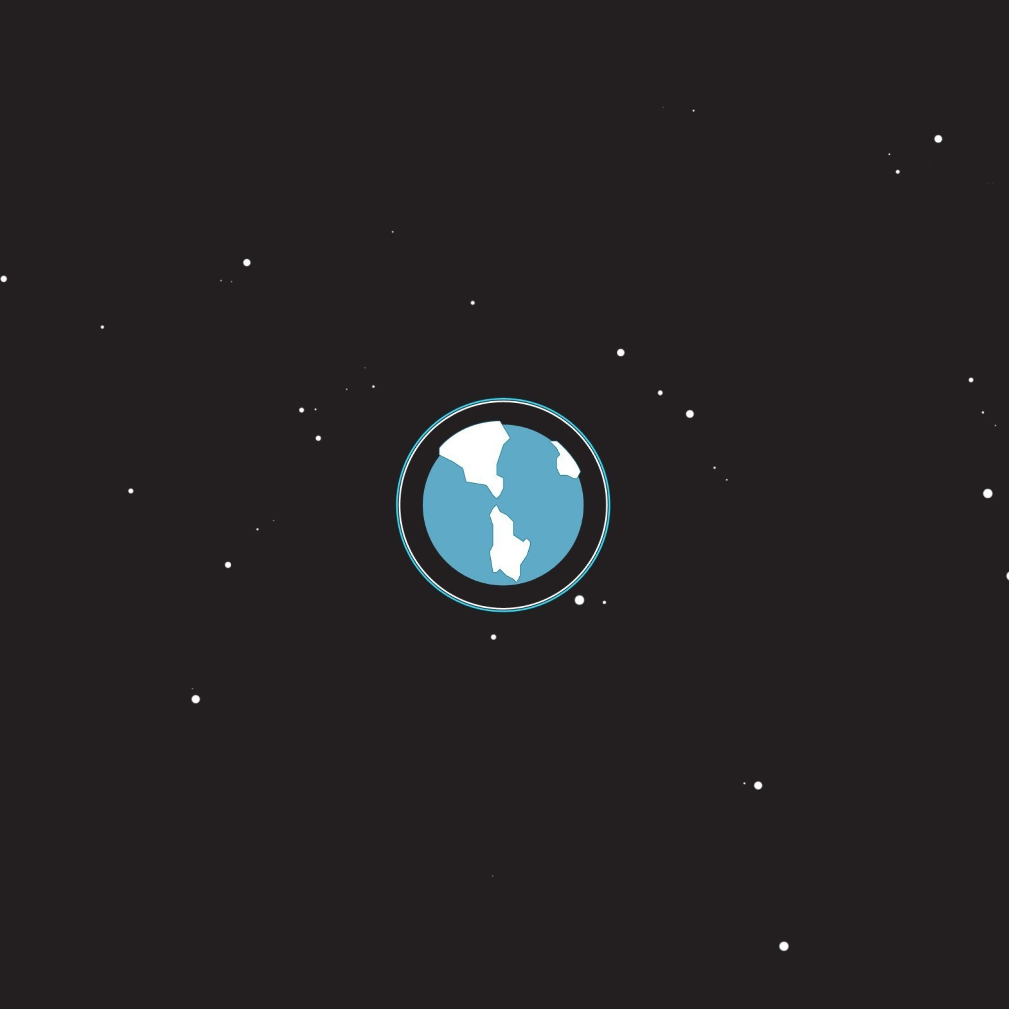 Планета замля минимализм бесплатно