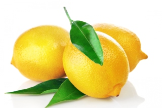 Lemons Close Up Background for Android, iPhone and iPad