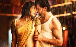 Hrithik Roshan Priyanka Chopra Picture for Android, iPhone and iPad