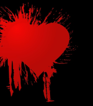 Heart Is Broken Background for Nokia C1-01