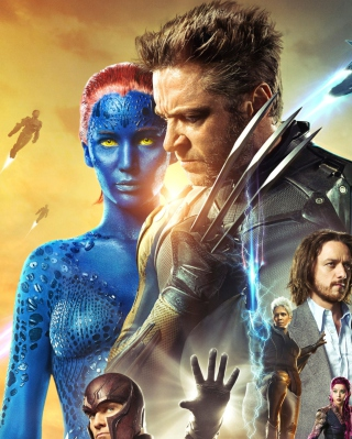 X-Men Days Of Future Past Movie - Obrázkek zdarma pro 640x1136