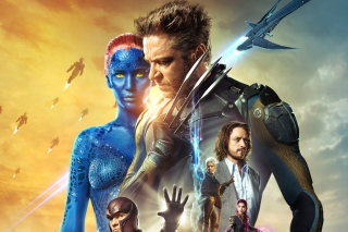 X-Men Days Of Future Past Movie - Obrázkek zdarma pro 480x320