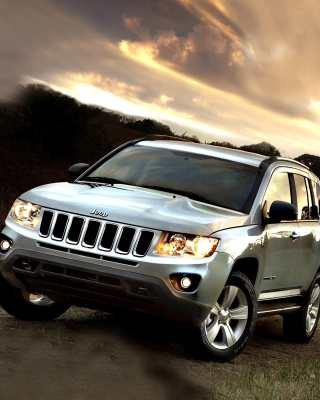 Jeep Compass SUV Wallpaper for Nokia Asha 311