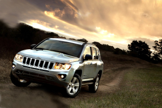 Free Jeep Compass SUV Picture for Android, iPhone and iPad
