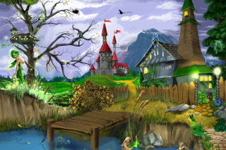 Free Sci-Fi World Of Fantasy Picture for Android, iPhone and iPad