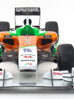 Screenshot №1 pro téma Force India VJM04 240x320