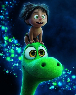 Kostenloses The Good Dinosaur Cartoon Wallpaper für iPhone 5