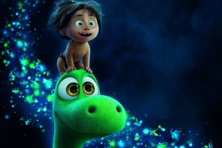 The Good Dinosaur Cartoon papel de parede para celular para Nokia Asha 201
