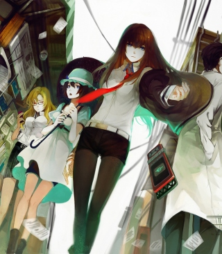 Steins;Gate sfondi gratuiti per iPhone 4S