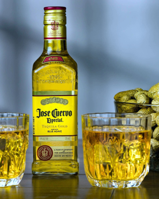 Tequila Jose Cuervo Especial Gold Background for 240x320