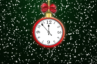 Happy New Year Clock sfondi gratuiti per cellulari Android, iPhone, iPad e desktop