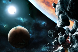 Asteroids Wallpaper for Android, iPhone and iPad