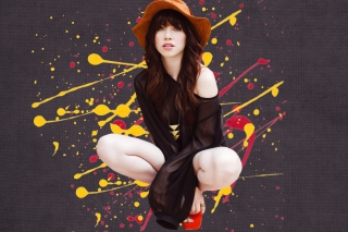 Carly Rae Jepsen Background for HTC Desire HD