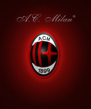 AC Milan Logo Wallpaper for Nokia C1-01