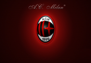 AC Milan Logo Background for Android, iPhone and iPad
