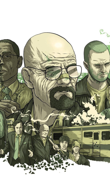 Screenshot №1 pro téma Breaking Bad Poster 360x640