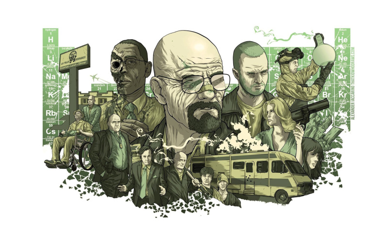 Screenshot №1 pro téma Breaking Bad Poster 800x480