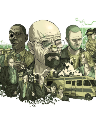Breaking Bad Poster Wallpaper for Nokia C1-01