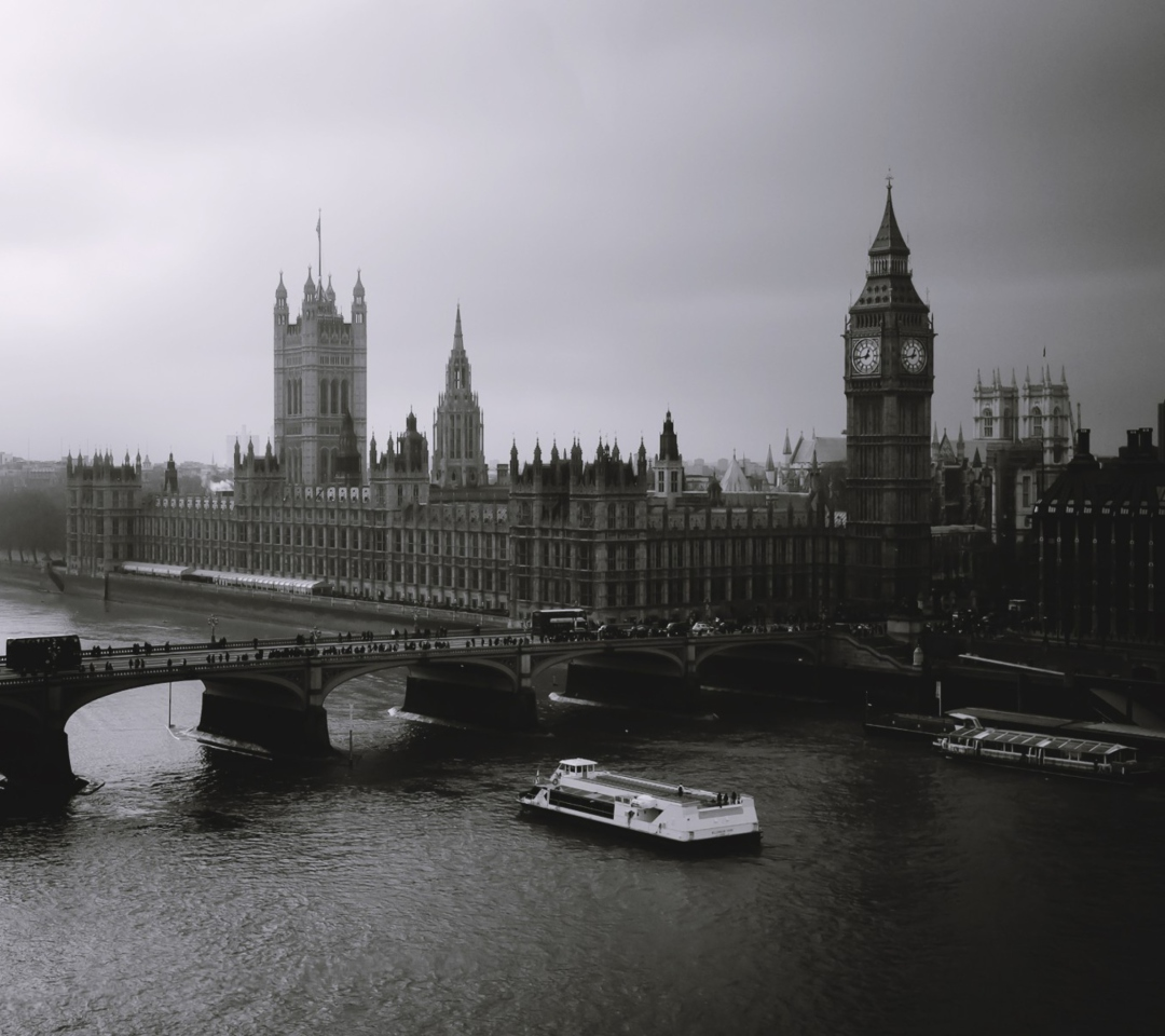 Screenshot №1 pro téma London City Black And White 1080x960
