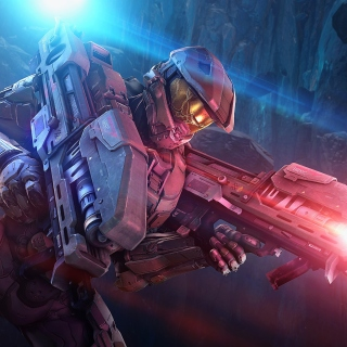 Master Chief in Halo Game sfondi gratuiti per iPad 3