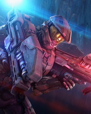 Master Chief in Halo Game Wallpaper for Nokia Asha 310