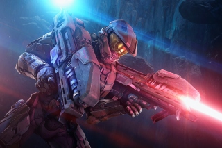 Free Master Chief in Halo Game Picture for Samsung I9080 Galaxy Grand