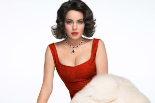 Lindsay Lohan As Elizabeth Taylor sfondi gratuiti per cellulari Android, iPhone, iPad e desktop