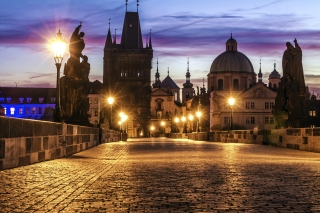 Free Prague Charles Bridge Picture for Android, iPhone and iPad