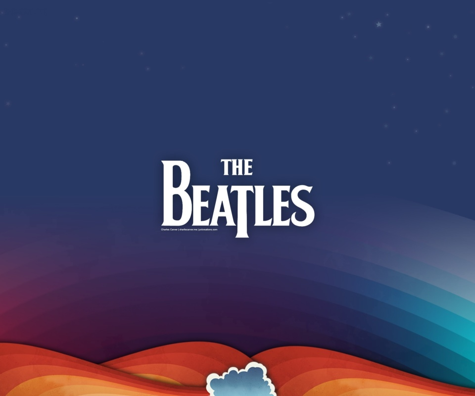 Обои Beatles Rock Band 960x800