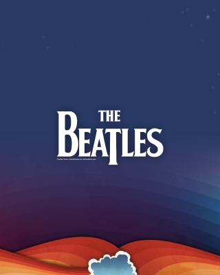 Beatles Rock Band Background for 480x640