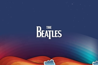 Beatles Rock Band Background for 1024x768