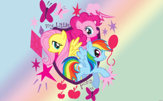 My Little Pony Pinkie Pie Background for Android, iPhone and iPad