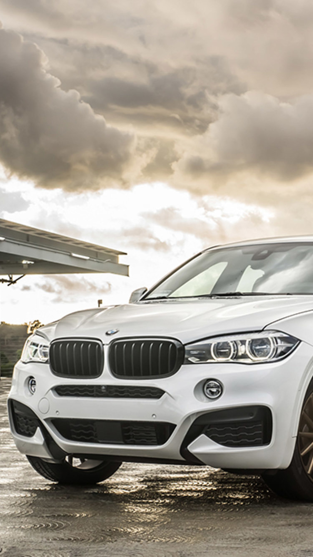 Screenshot №1 pro téma BMW X6 Vossen Wheels VVS CV3 1080x1920