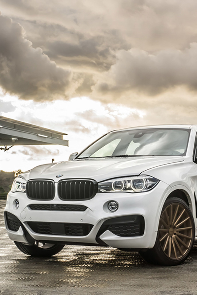 Screenshot №1 pro téma BMW X6 Vossen Wheels VVS CV3 640x960