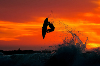 Extreme Surfing Wallpaper for Android, iPhone and iPad