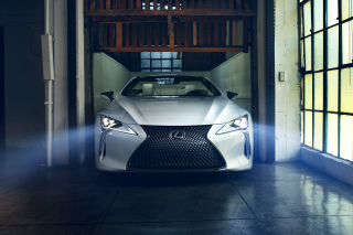 Lexus LC 500 Background for LG Optimus M
