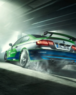 BMW Alpina GT3 Touring Wallpaper for Nokia Asha 306
