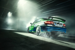 BMW Alpina GT3 Touring Background for Android 480x800