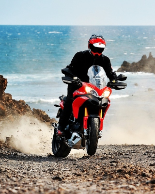 Ducati Multistrada 1200 Picture for iPhone 5C